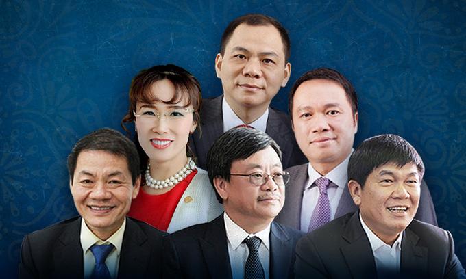Danh sách tỷ phú thế giới năm 2021: Việt Nam ghi nhận 6  tên tuổi; lãnh đạo công nghệ chiếm đa số trong Top 5 - Ảnh 1.