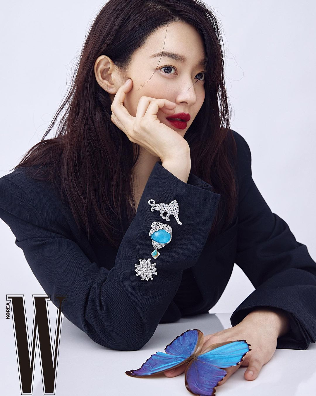 Nàng mặt tròn học ngay bạn gái tài tử Woo Bin để 4 kiểu tóc 'đỉnh' cao này 0013