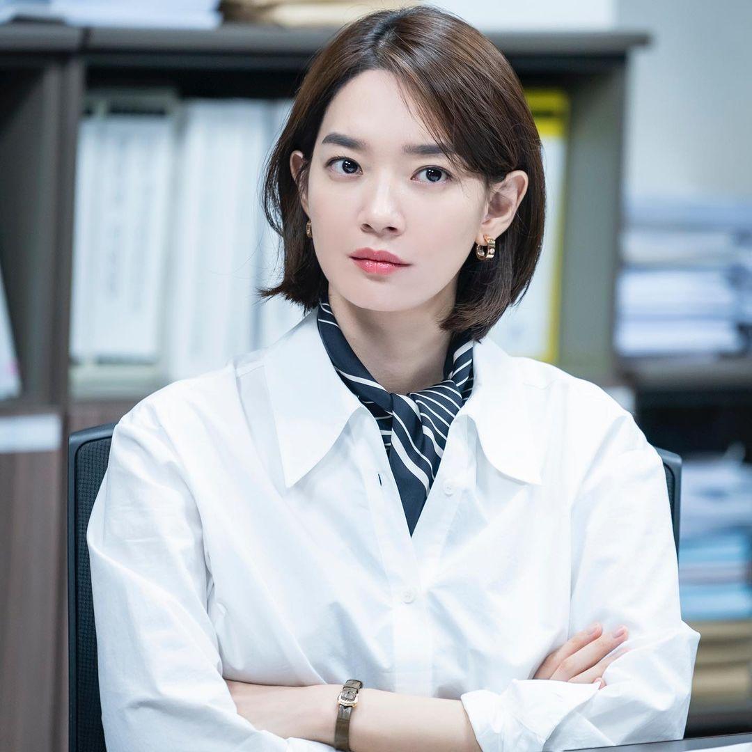 Nàng mặt tròn học ngay bạn gái tài tử Woo Bin để 4 kiểu tóc 'đỉnh' cao này 005
