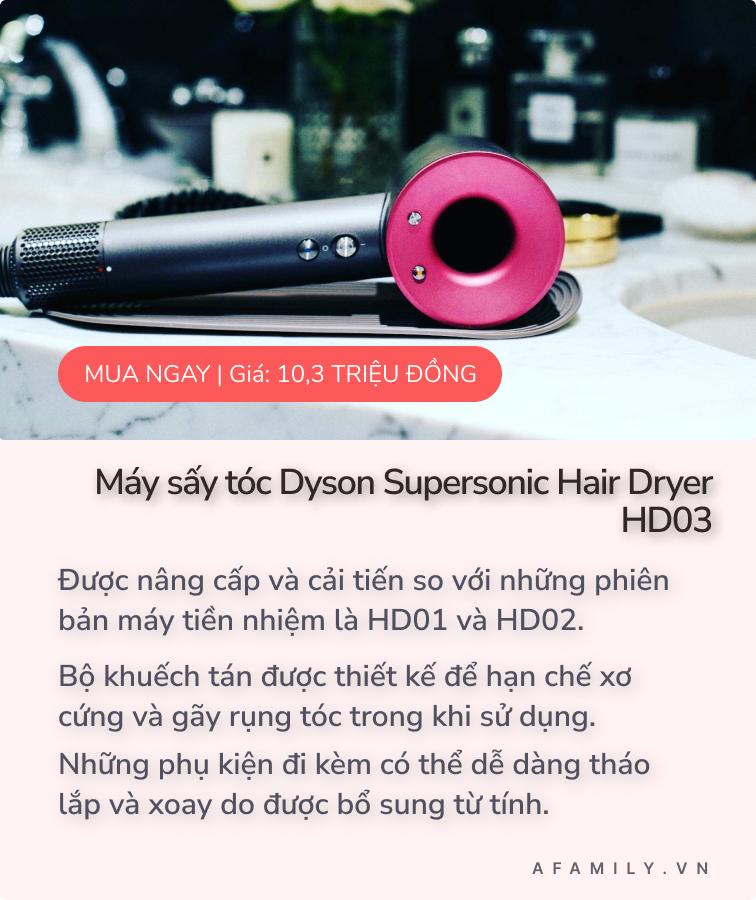 Sắp khai trương tại Sài Gòn, đây là 3 mẫu máy sấy tóc Dyson nhanh nhẹ và không gây ồn được yêu thích nhất mà bạn không nên bỏ qua  - Ảnh 7.