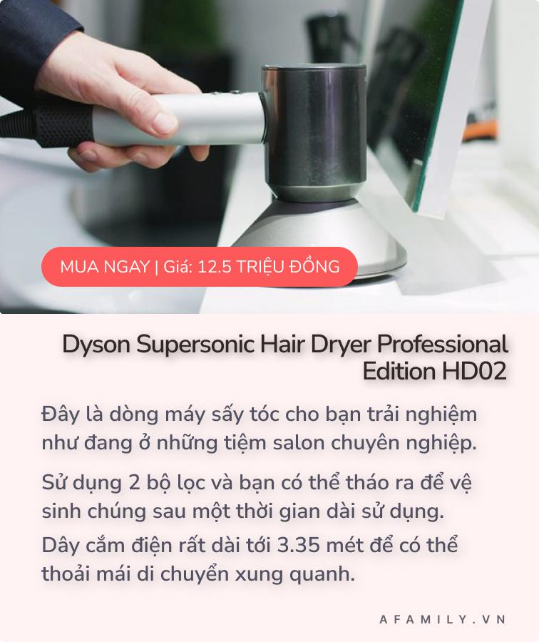 Sắp khai trương tại Sài Gòn, đây là 3 mẫu máy sấy tóc Dyson nhanh nhẹ và không gây ồn được yêu thích nhất mà bạn không nên bỏ qua  - Ảnh 4.