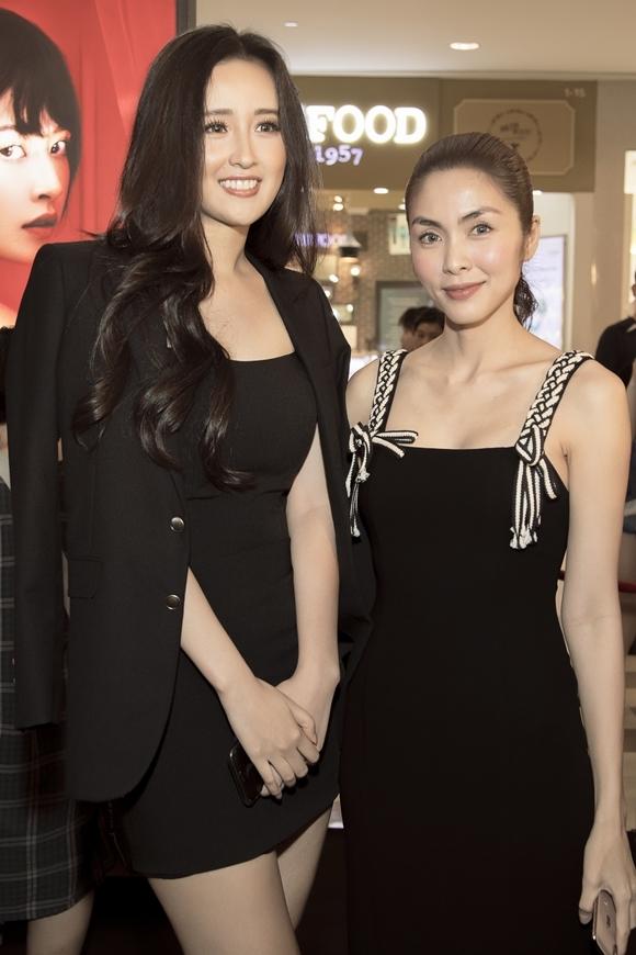 """Hà Tăng khi chung khung hình với dàn Hoa hậu: Makeup đậm hay nhạt cũng không """"ngán"""" bất cứ ai  - Ảnh 4."""