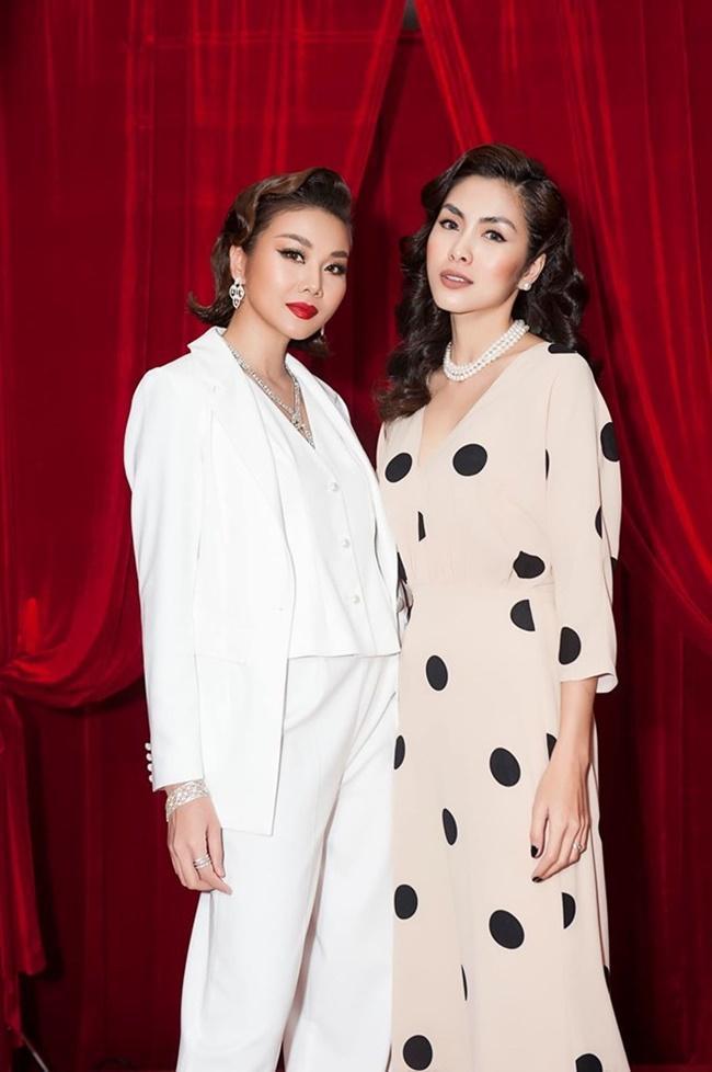 """Hà Tăng khi chung khung hình với dàn Hoa hậu: Makeup đậm hay nhạt cũng không """"ngán"""" bất cứ ai  - Ảnh 7."""