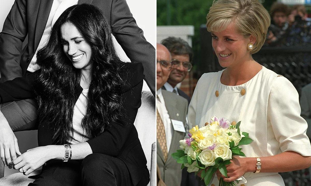 Meghan Markle lôi cả Công nương Diana vào cuộc chiến thách thức Hoàng gia Anh bằng cách tái sử dụng trang sức của mẹ chồng - Ảnh 5.