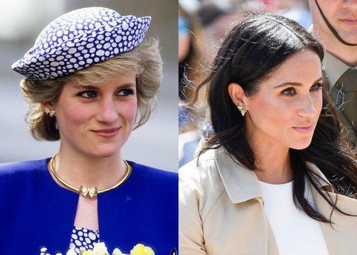 Meghan Markle lôi cả Công nương Diana vào cuộc chiến thách thức Hoàng gia Anh bằng cách tái sử dụng trang sức của mẹ chồng - Ảnh 10.