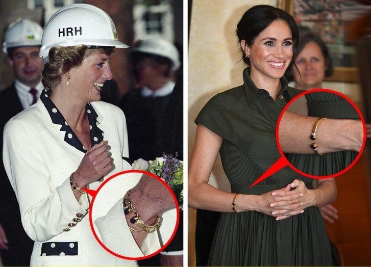 Meghan Markle lôi cả Công nương Diana vào cuộc chiến thách thức Hoàng gia Anh bằng cách tái sử dụng trang sức của mẹ chồng - Ảnh 9.