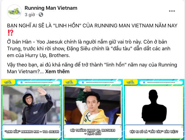 """Running Man Vietnam: Không có Trấn Thành, Trường Giang liệu sẽ là """"Anh Cả"""" dù thể lực yếu hơn người này?"""