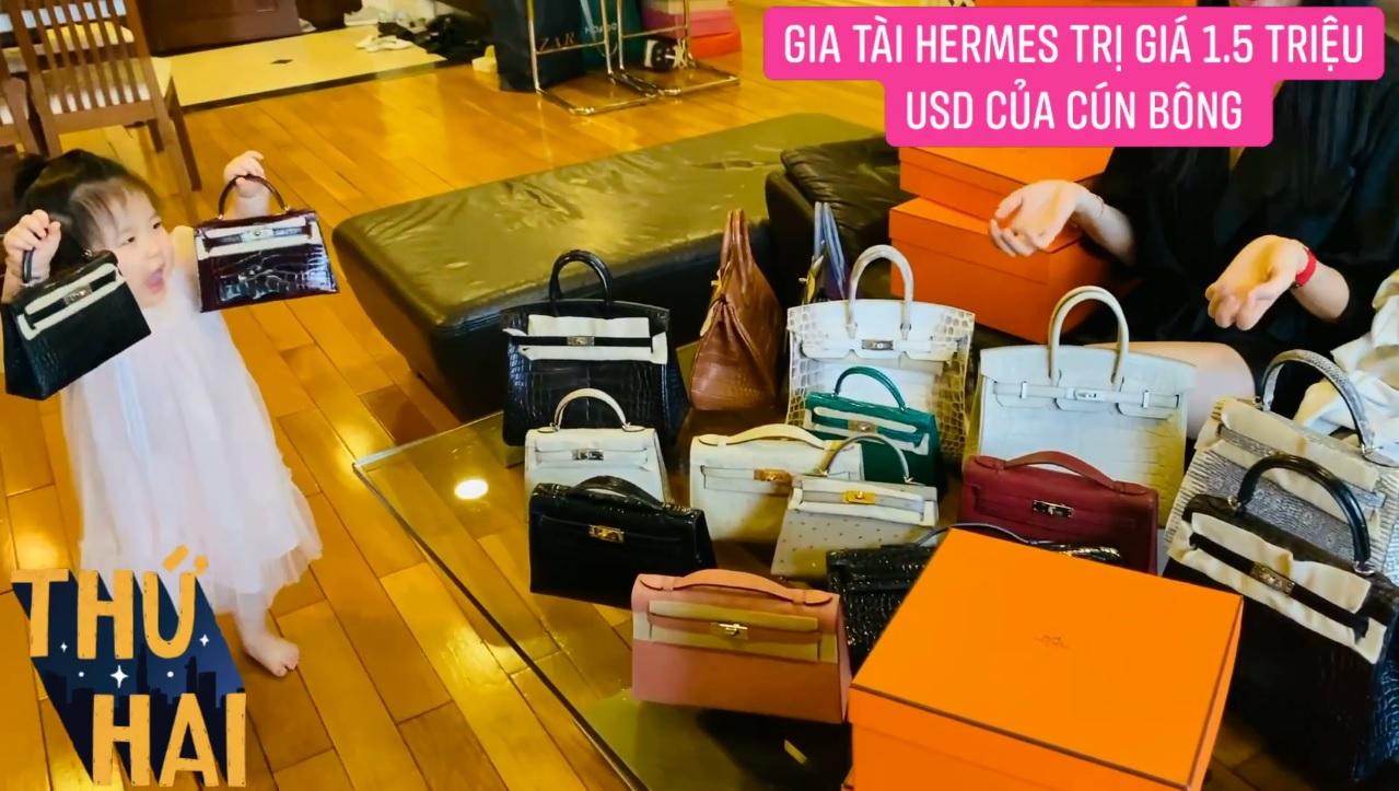 Hot mom nhiều túi Hermès hơn cả Ngọc Trinh lần đầu hé lộ gia tài túi hơn 30 tỷ, nhiều mẫu hot hit chưa chắc có tiền đã mua được - Ảnh 10.
