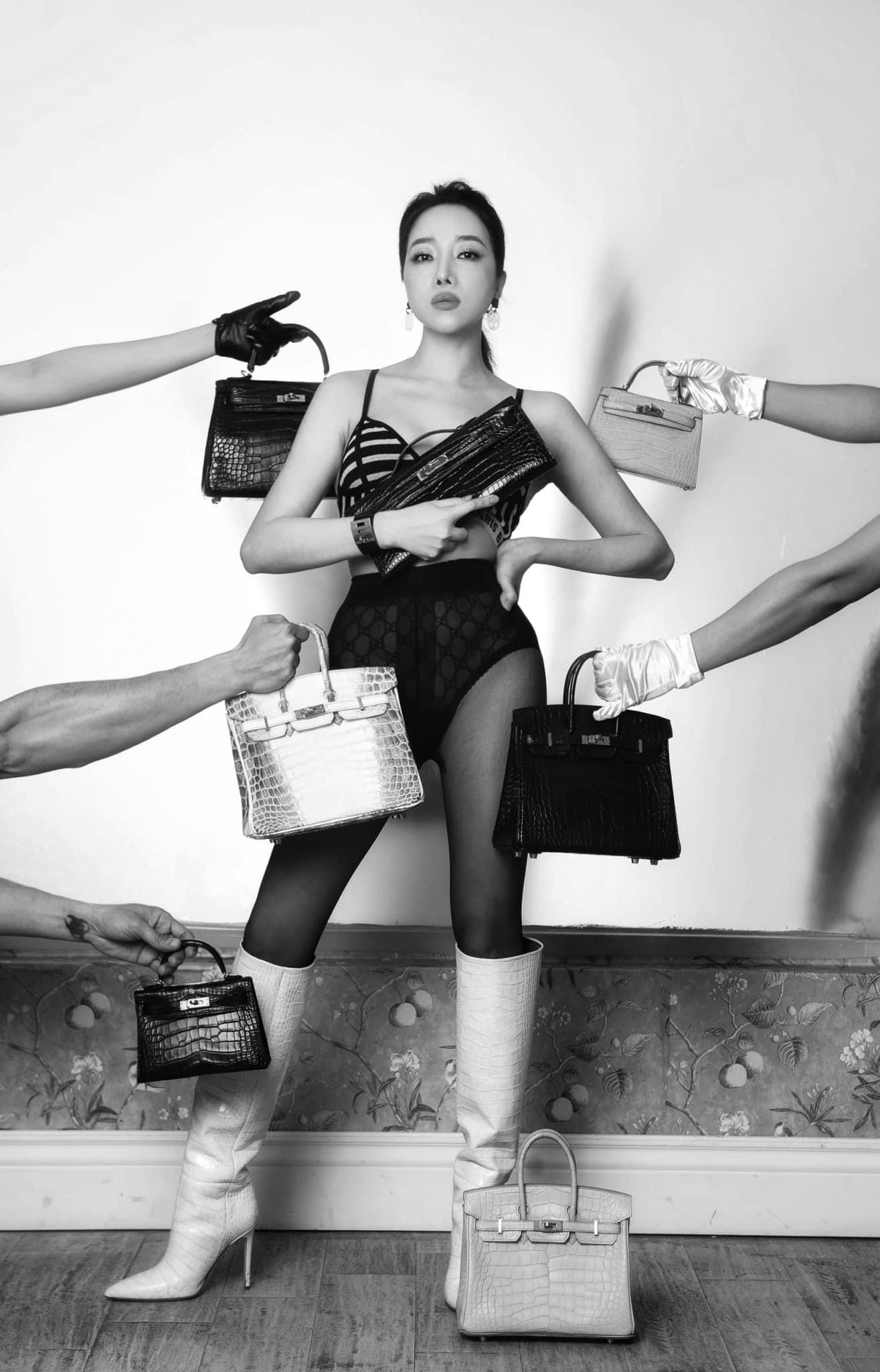 Hot mom nhiều túi Hermès hơn cả Ngọc Trinh lần đầu hé lộ gia tài túi hơn 30 tỷ, nhiều mẫu hot hit chưa chắc có tiền đã mua được - Ảnh 7.