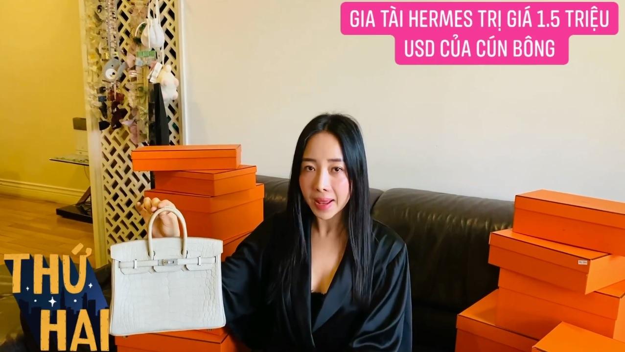 Hot mom nhiều túi Hermès hơn cả Ngọc Trinh lần đầu hé lộ gia tài túi hơn 30 tỷ, nhiều mẫu hot hit chưa chắc có tiền đã mua được - Ảnh 3.