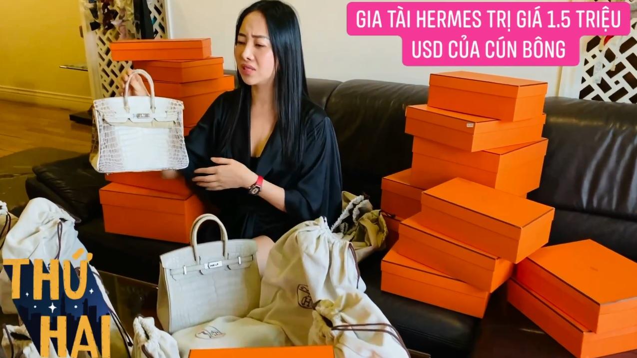 Hot mom nhiều túi Hermès hơn cả Ngọc Trinh lần đầu hé lộ gia tài túi hơn 30 tỷ, nhiều mẫu hot hit chưa chắc có tiền đã mua được - Ảnh 4.