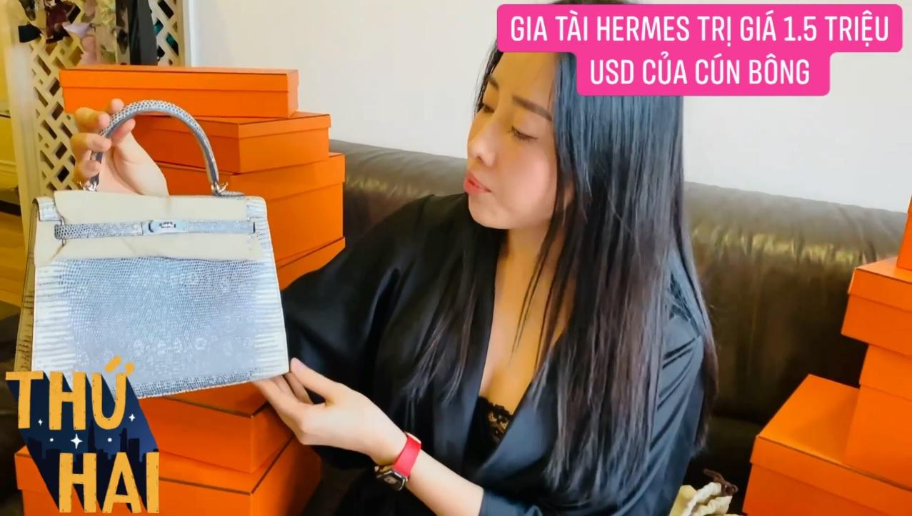 Hot mom nhiều túi Hermès hơn cả Ngọc Trinh lần đầu hé lộ gia tài túi hơn 30 tỷ, nhiều mẫu hot hit chưa chắc có tiền đã mua được - Ảnh 5.