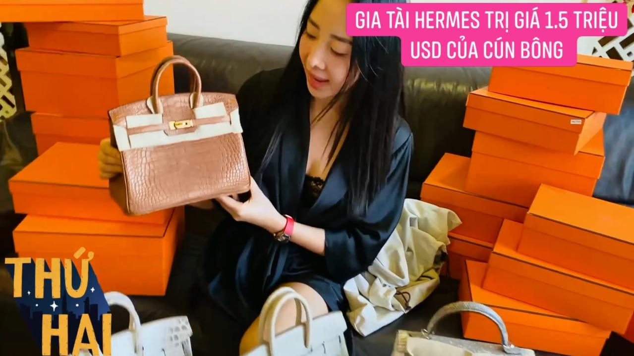 Hot mom nhiều túi Hermès hơn cả Ngọc Trinh lần đầu hé lộ gia tài túi hơn 30 tỷ, nhiều mẫu hot hit chưa chắc có tiền đã mua được - Ảnh 6.