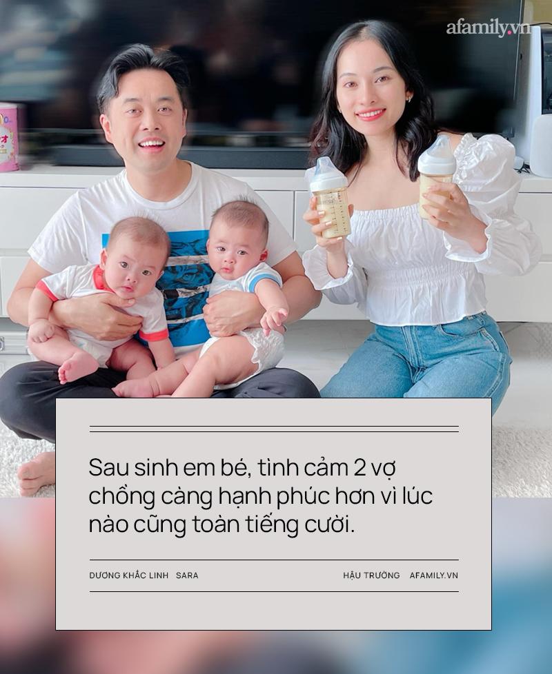 """Vợ chồng Dương Khắc Linh - Sara Lưu: Vui khi các con là """"thanh mai trúc mã"""" với Leon - Lisa nhà Hồ Ngọc Hà - Ảnh 2."""