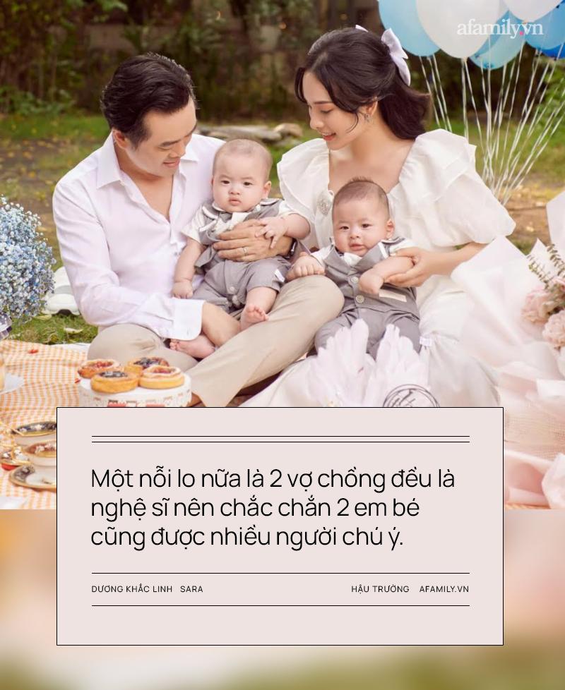 """Vợ chồng Dương Khắc Linh - Sara Lưu: Vui khi các con là """"thanh mai trúc mã"""" với Leon - Lisa nhà Hồ Ngọc Hà - Ảnh 3."""