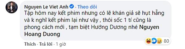 Việt Anh tuyên bố tập 36 lên sóng tối qua là tập cuối Hướng dương ngược nắng khiến dân tình vừa hoang mang vừa buồn cười - Ảnh 2.