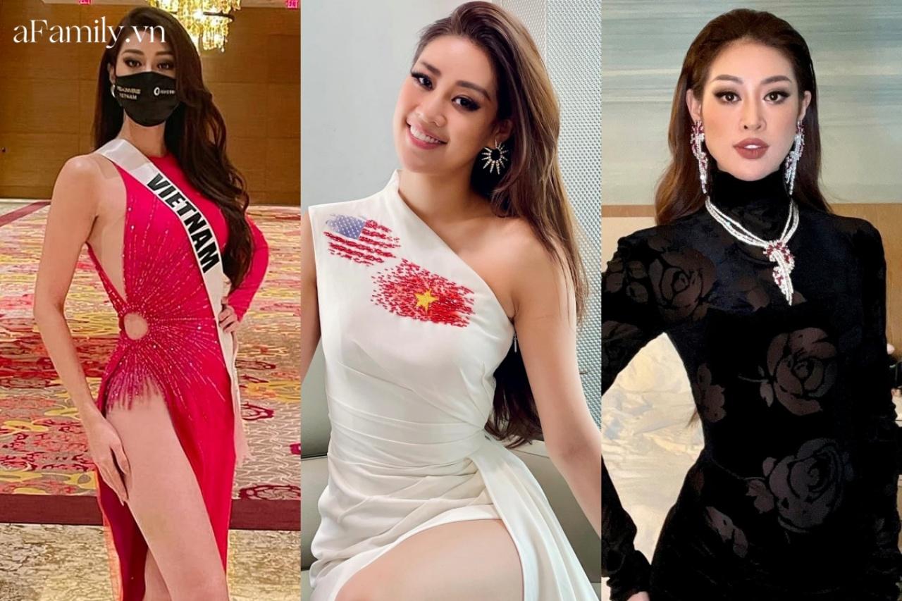 """Dân tình vừa tự hào vừa thương cảm với 3 chiến thuật style """"cao tay"""" của Khánh Vân tại Miss Universe - Ảnh 2."""