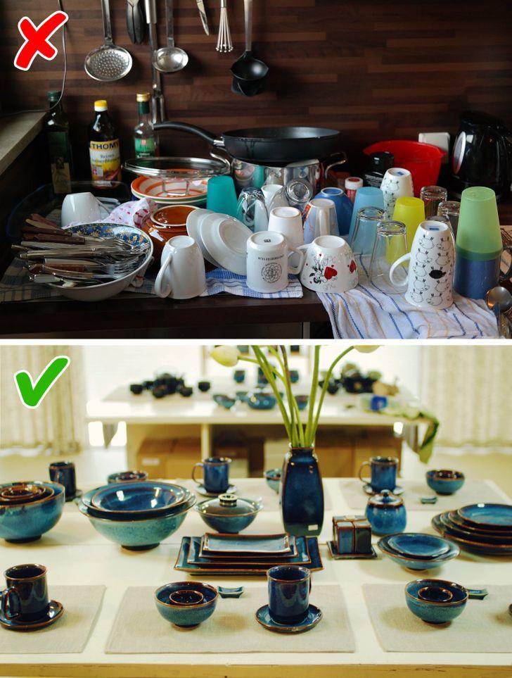 Những mẹo nhỏ dọn bếp nhanh chóng giúp không gian nấu nướng đẹp như trên bìa tạp chí - Ảnh 1.