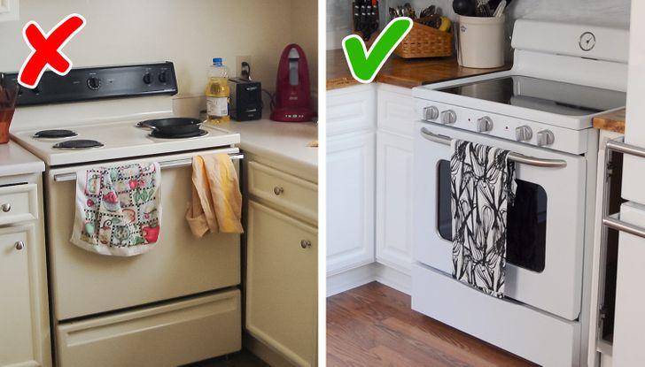 Những mẹo nhỏ dọn bếp nhanh chóng giúp không gian nấu nướng đẹp như trên bìa tạp chí - Ảnh 2.
