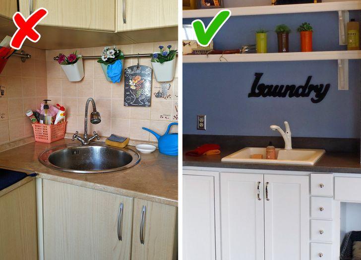Những mẹo nhỏ dọn bếp nhanh chóng giúp không gian nấu nướng đẹp như trên bìa tạp chí - Ảnh 3.