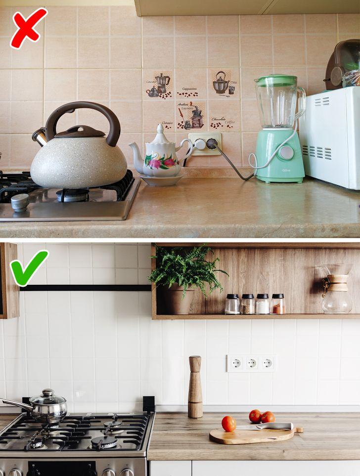 Những mẹo nhỏ dọn bếp nhanh chóng giúp không gian nấu nướng đẹp như trên bìa tạp chí - Ảnh 6.