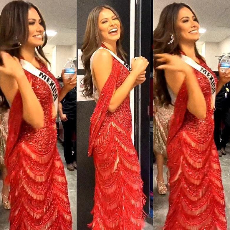 40.000 viên pha lê đính trên chiếc váy giúp Tân Hoa hậu Andrea Meza chiếm spotlight đêm chung kết - Ảnh 4.