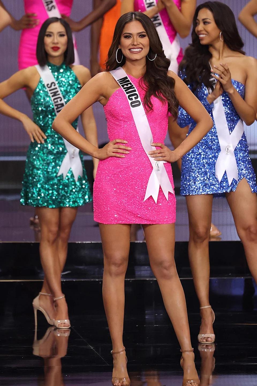 Tân Hoa hậu Hoàn vũ Andrea Meza mặc cái gì thế này? - Ảnh 7.