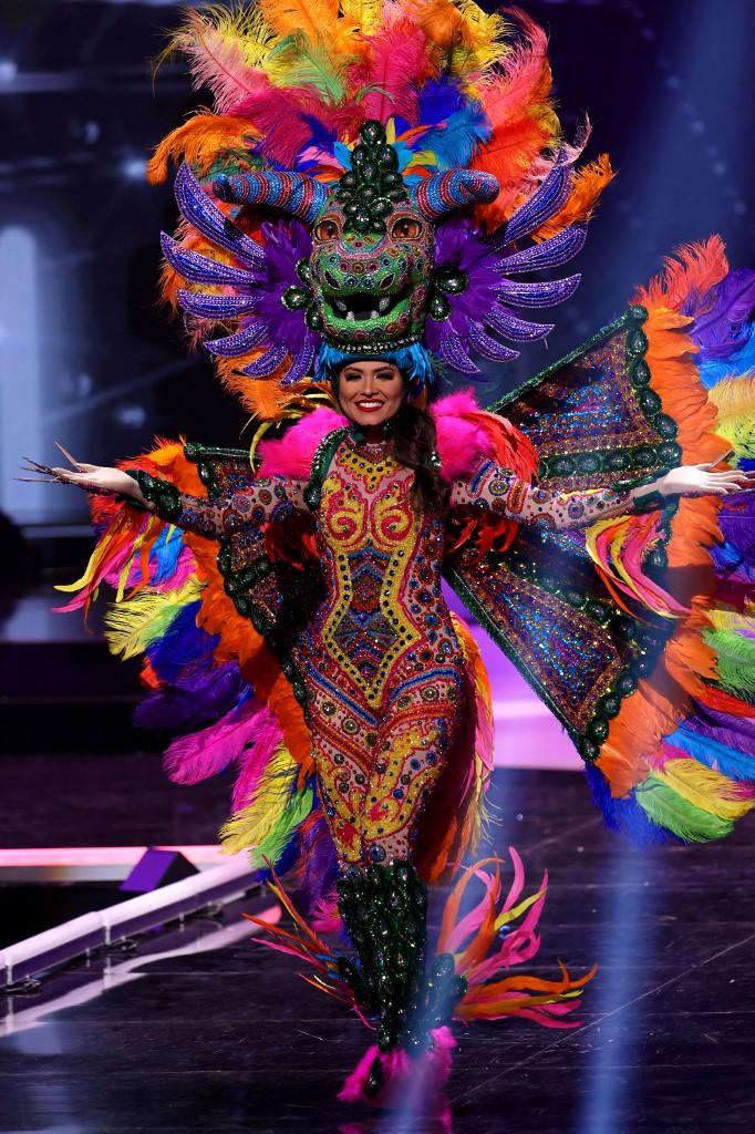 Tân Hoa hậu Hoàn vũ Andrea Meza mặc cái gì thế này? - Ảnh 8.