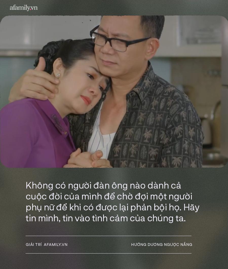 Hướng dương ngược nắng: NSND Thu Hà - NSƯT Phạm Cường gây sốt với cảnh tỏ tình tuổi 50, diễn xuất quá đỉnh! - Ảnh 7.