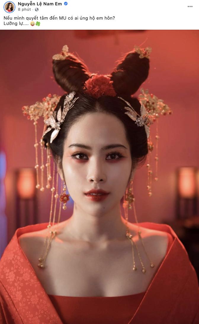 Sau thành công của Khánh Vân, Nam Em hạ quyết tâm trở thành đại diện của Việt Nam chinh chiến tại Miss Universe? - Ảnh 2.