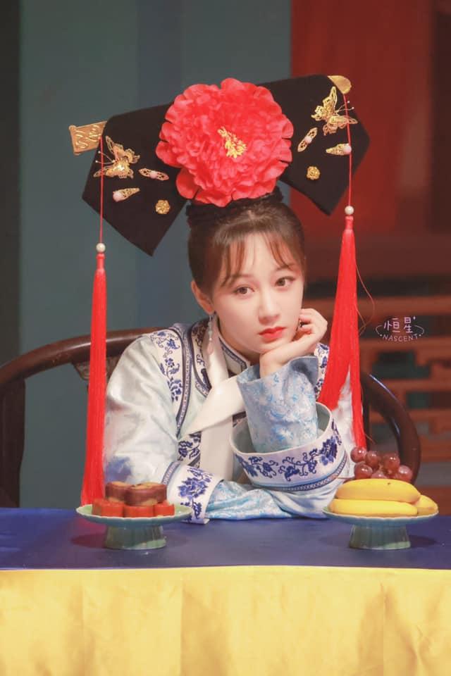 Dương Tử bị lộ tạo hình công chúa nhà Thanh, còn đóng lại vai Hạ Tử Vy trong Hoàn Châu Cách Cách - Ảnh 5.