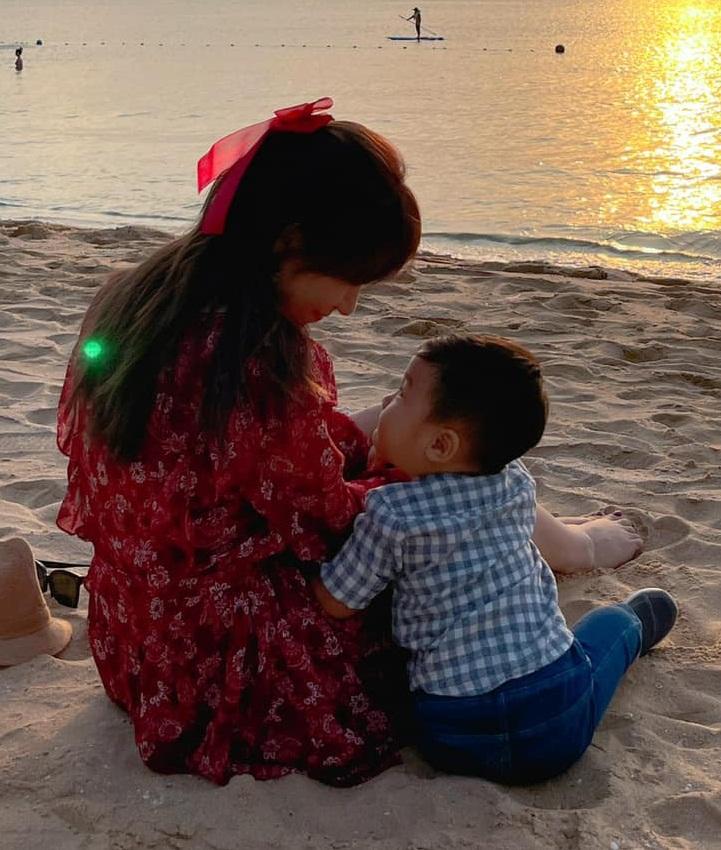 Hoà Minzy nhớ nhung khoe ảnh chồng con nhưng lại phán luôn một câu nghe đối ngược hoàn toàn thực tại - Ảnh 5.