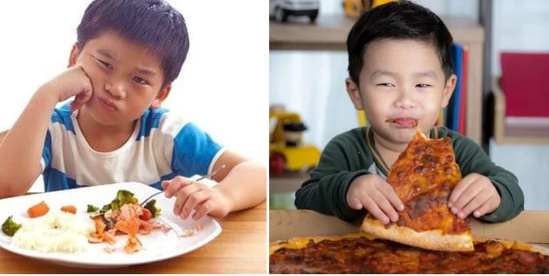 """Con lãng phí đồ ăn, bố áp dụng """"chiêu độc"""" khiến cậu bé ngoan ngoãn thay đổi nhanh chóng - Ảnh 1."""
