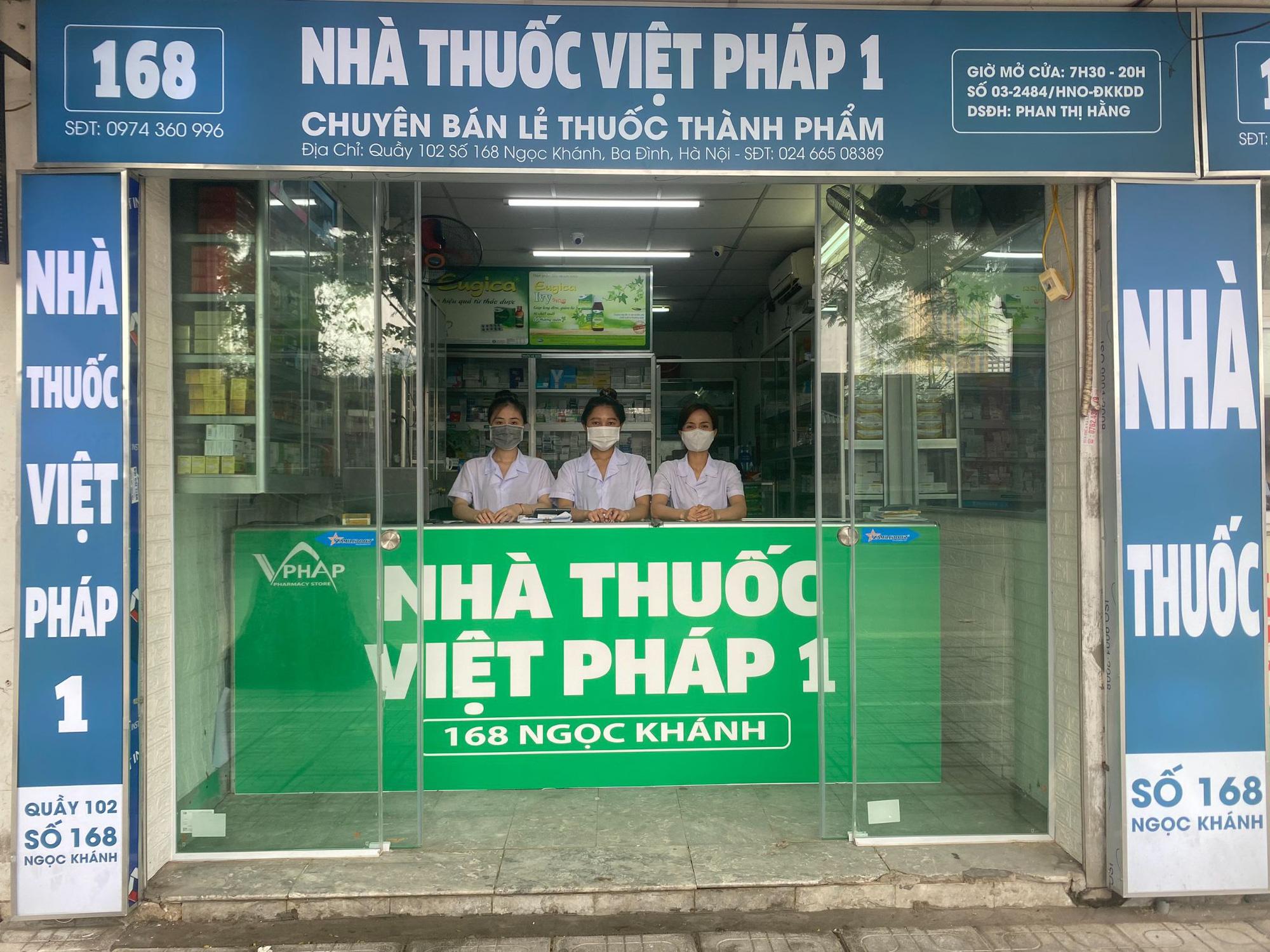 Nhà thuốc Việt Pháp 1 - Tủ thuốc gia đình của mọi nhà - Ảnh 2.