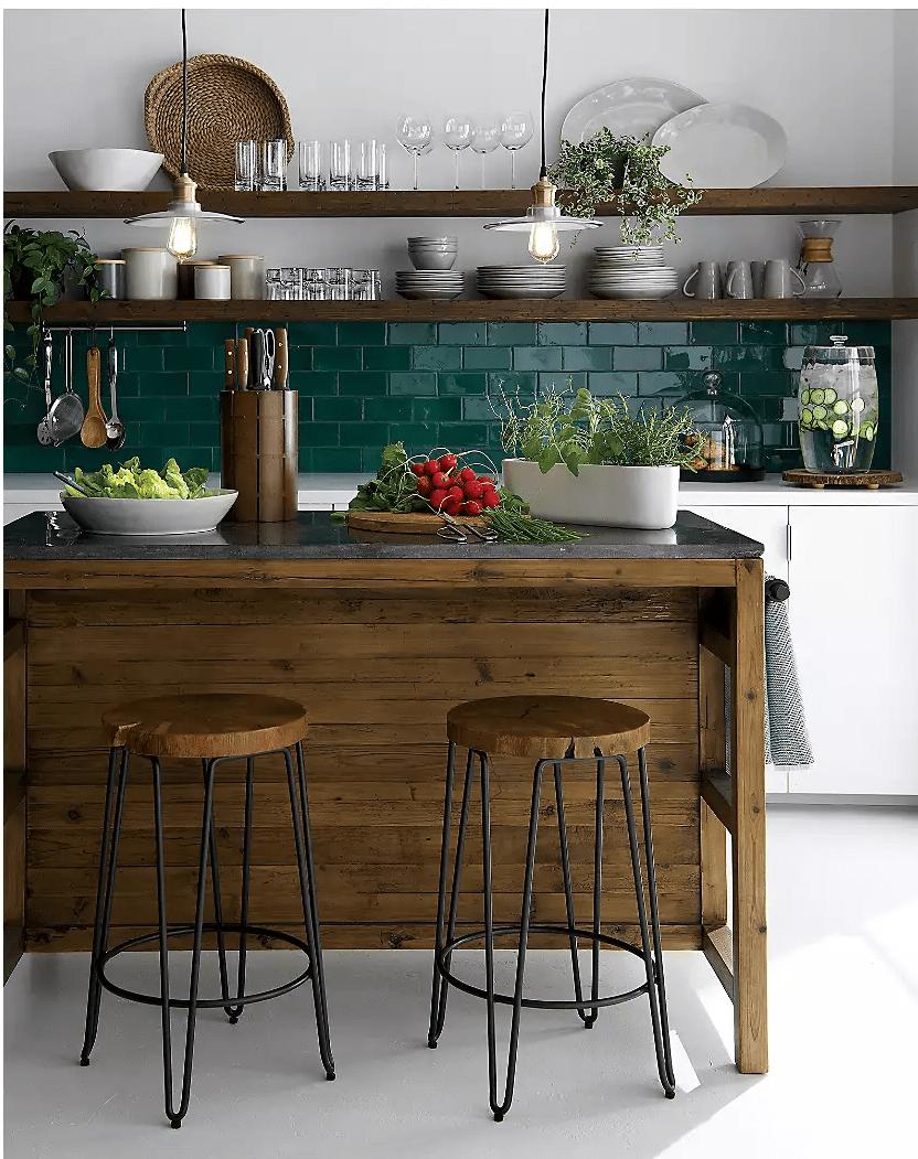 Những cách siêu đơn giản mang hơi thở mùa hè vào căn bếp nhỏ - Ảnh 2.