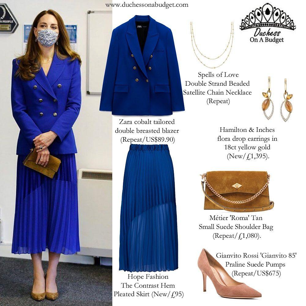 """Công nương Kate diện áo Zara giá gần 2 triệu sang quá nhưng từ 200k bạn đã """"tăm"""" được nhiều kiểu xinh không kém - Ảnh 4."""
