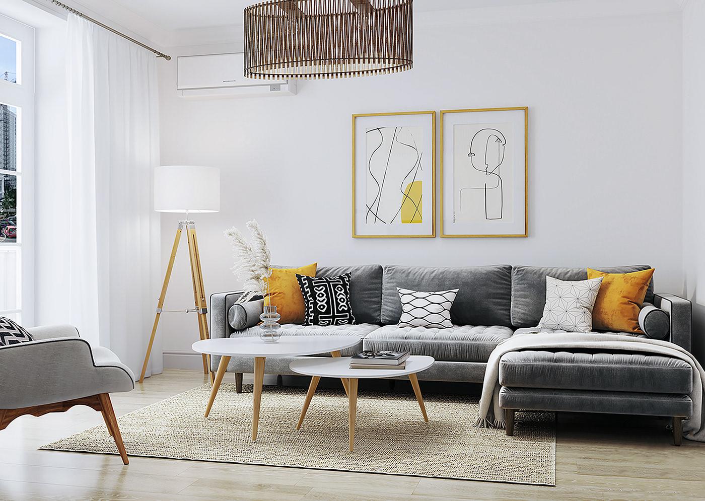 Căn hộ 76m² được kiến trúc sư tư vấn thiết kế theo phong cách Scandinavian chi phí 160 triệu - Ảnh 3.