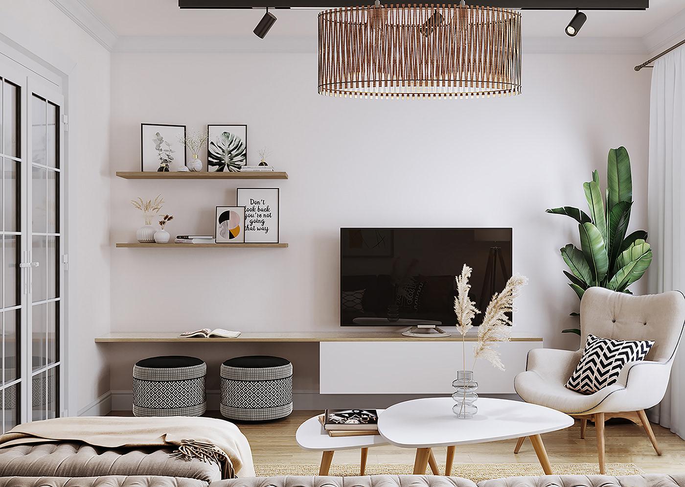 Căn hộ 76m² được kiến trúc sư tư vấn thiết kế theo phong cách Scandinavian chi phí 160 triệu - Ảnh 4.