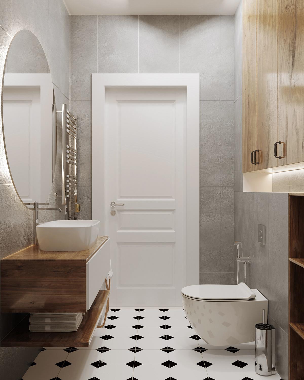 Căn hộ 76m² được kiến trúc sư tư vấn thiết kế theo phong cách Scandinavian chi phí 160 triệu - Ảnh 9.