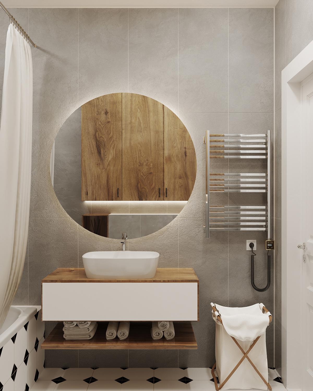 Căn hộ 76m² được kiến trúc sư tư vấn thiết kế theo phong cách Scandinavian chi phí 160 triệu - Ảnh 10.