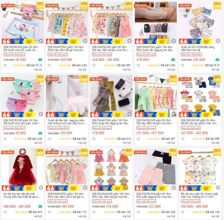 5 shop đồ trẻ em có giá siêu rẻ cho hội mẹ bỉm mua sắm không cần nhìn giá! - Ảnh 5.
