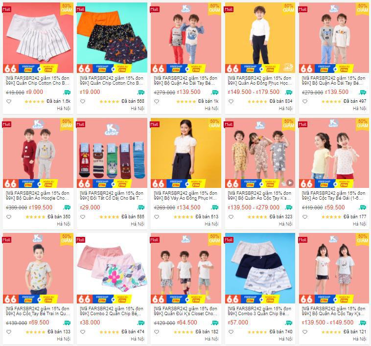 5 shop đồ trẻ em có giá siêu rẻ cho hội mẹ bỉm mua sắm không cần nhìn giá! - Ảnh 7.