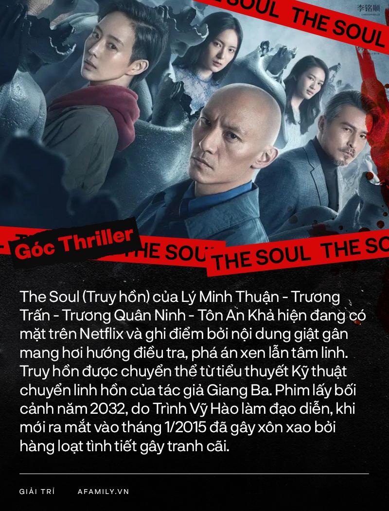 """Phim 18+ """"The Soul"""" của Lý Minh Thuận: Bùa ngải tâm linh, có cả bà bầu giết người, sốc nhất là cảnh lõa thể - Ảnh 1."""