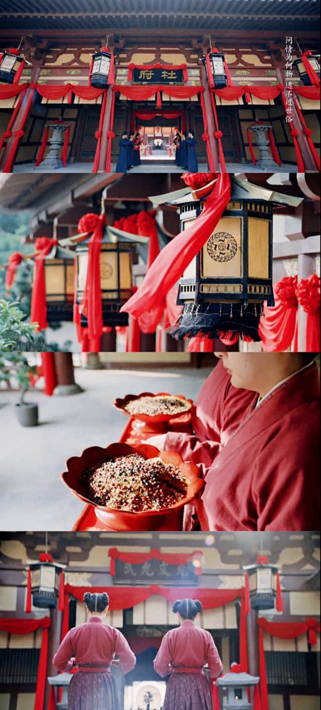 Trường Ca Hành tập cuối: Fan vỡ òa trước đám cưới của Triệu Lộ Tư - Lưu Vũ Ninh, nhà gái quá mức xinh đẹp  - Ảnh 4.
