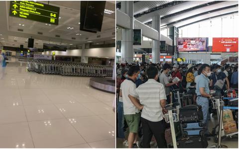 NÓNG: Dừng nhập cảnh hành khách tại sân bay Nội Bài từ 1/6