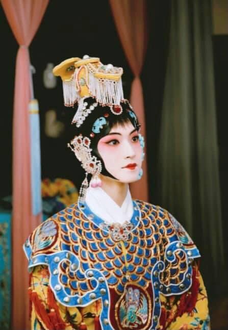 Sáng tạo doanh 2021: Lộ tạo hình kinh kịch đẹp mắt của Lưu Vũ, Center đông fan nhất đúng chuẩn visual - Ảnh 3.