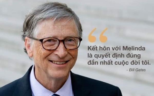 """Trước khi LY HÔN, """"đệ nhất ngôn tình"""" Bill Gates từng tấm tắc: """"Kết hôn với Melinda là quyết định sáng suốt nhất đời tôi"""" - Ảnh 1."""