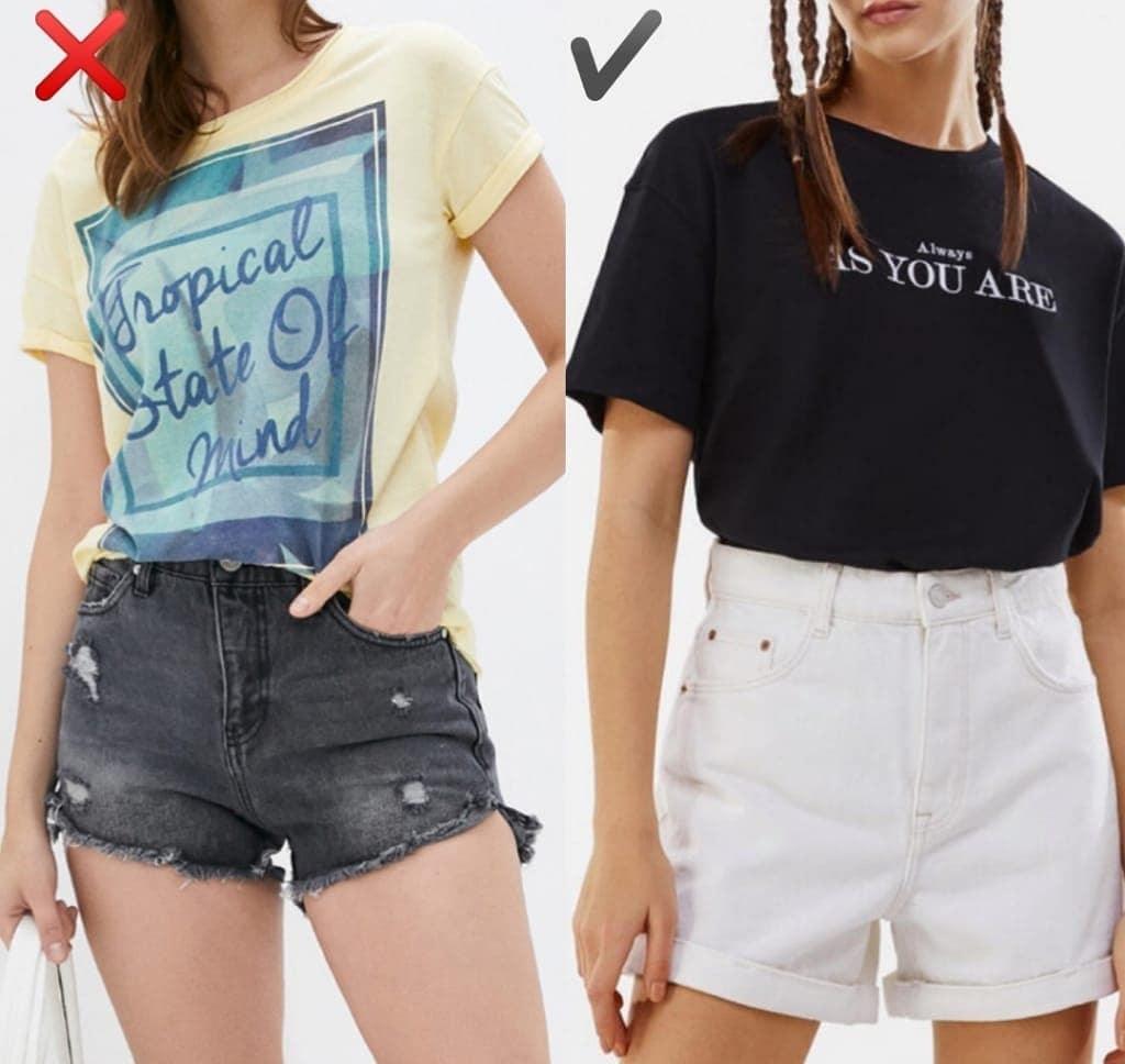 """6 kiểu quần short jeans """"đánh tụt"""" style của bạn xuống mức thảm họa - Ảnh 5."""