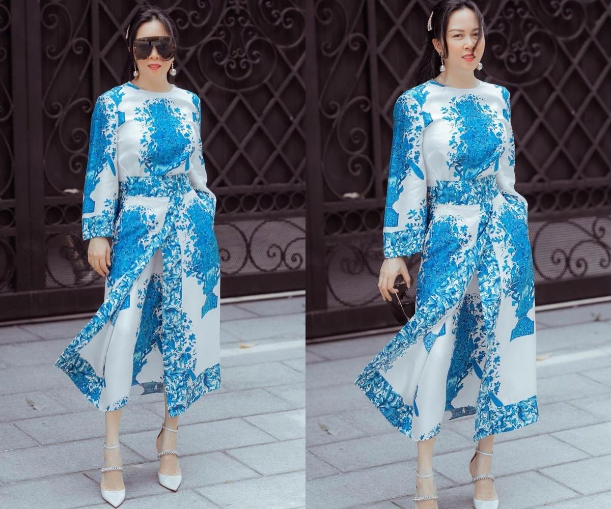 """Nhìn set đồ mới của Phượng Chanel mà choáng váng: Khi xưa là thảm họa thời trang, nay đã sang chuẩn """"phu nhân tài phiệt"""" - Ảnh 3."""