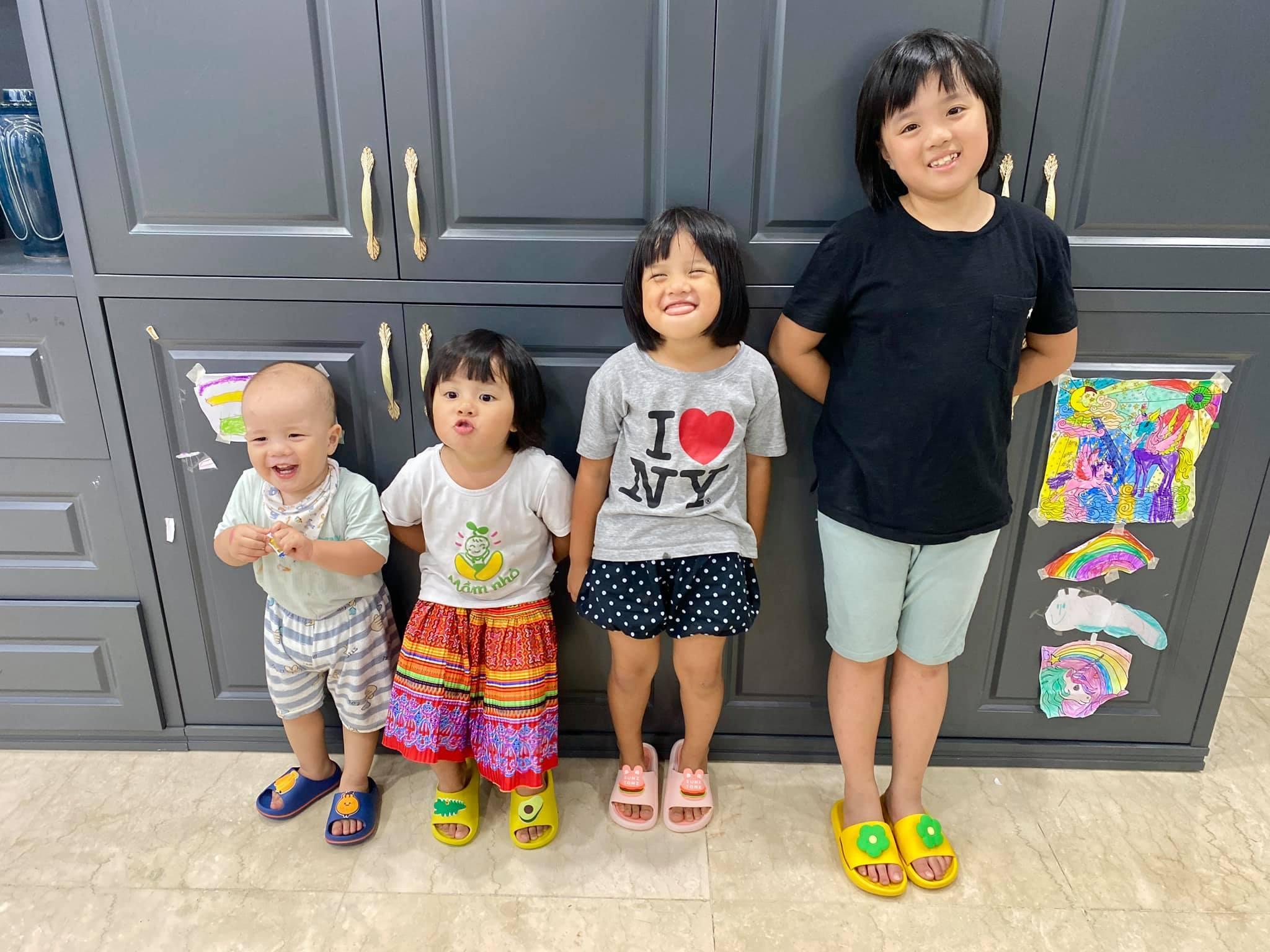 'Hot mom 4 con' MC Minh Trang mách nước dạy dỗ bầy con những ngày nghỉ học phòng dịch - Ảnh 2.